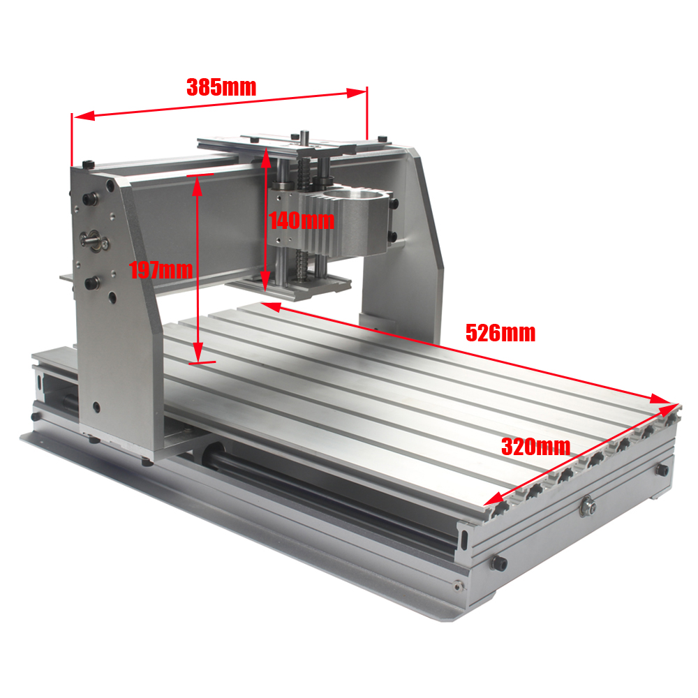 Building A Three Axis Metal Milling Machime