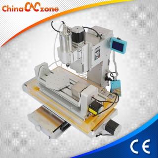 HY-3040 China Mini Maquina Fresadora Router CNC 5 Ejes Casero