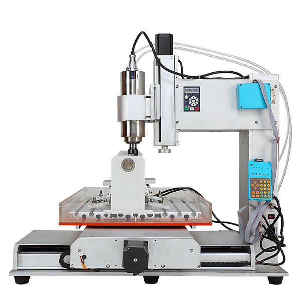 ChinaCNCzone HY-6040 Small Desktop DIY 5 Axis CNC Machine for