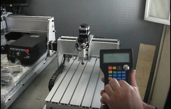 Wireless Mach3 Pendant CNC MPG Handwheel for ChinaCNCzone