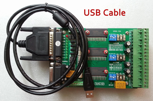 USB CNC To 25 Pins transfer cable